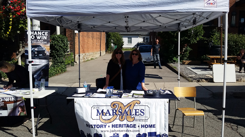 Photo of Manning the Booth - 2017 Locke Festival