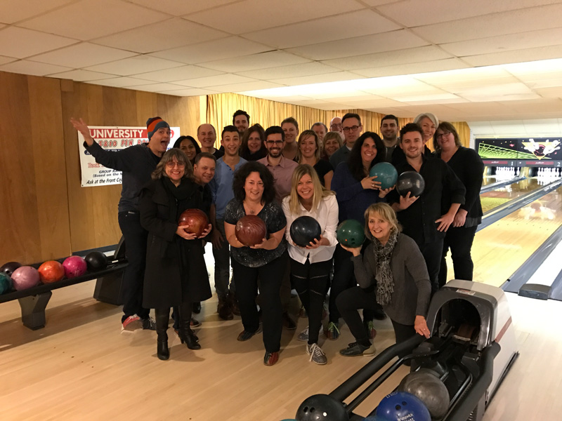 Photo of 2nd Annual Staff Bowling Event