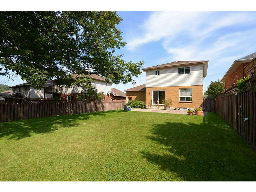 24 Linington Trail - Exterior Back. Large private lot ready to enjoy.