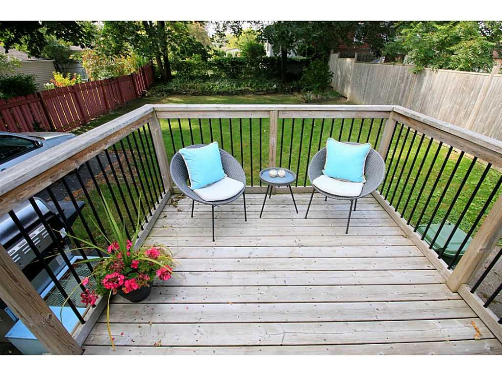 416 Fennell Avenue E  - Patio/Deck.