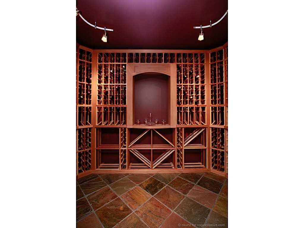 38 Winegarden Trail - Wine cellar.