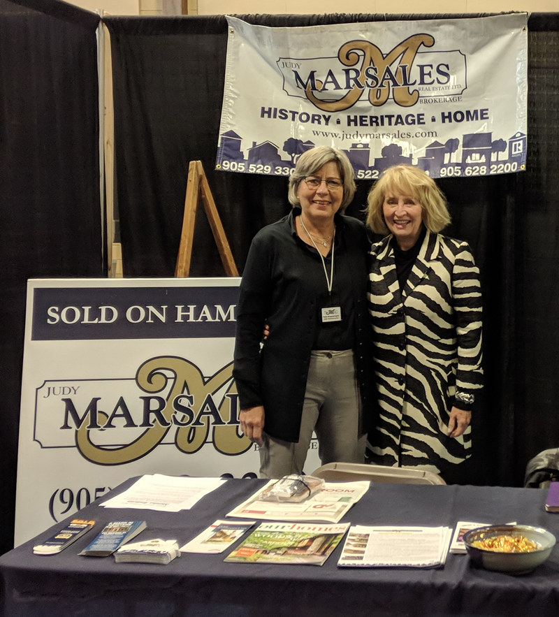 Photo of Petra Wupperman and Janice Rocchi - Ancaster Home Show 2018