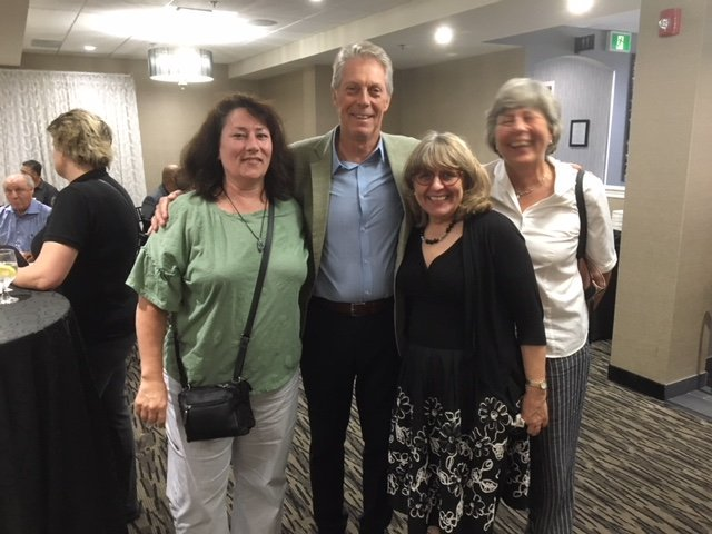 Photo of Business Expo at Carmen's with Mayor Fred Eisenberger