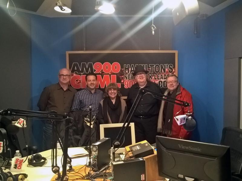 "Photo of The Judy Marsales Radio Show ""Sold on Hamilton"" -  Saturday Dec 16, 2017 on AM 900 CHML."