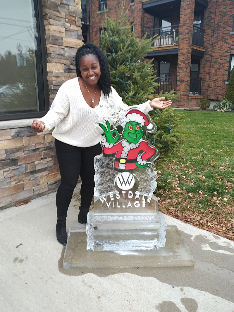 Photo of Celebrate the Season - Westdale BIA - Ice Sculpture