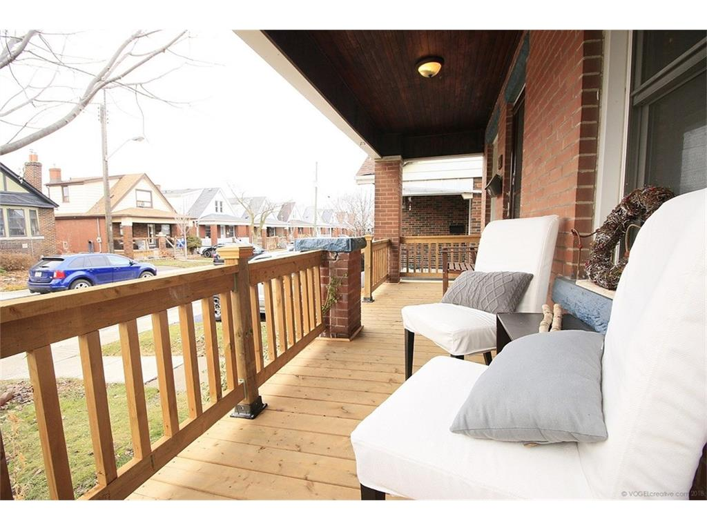 22 Cope Street - Front Porch