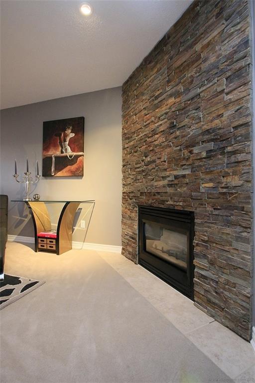 110 Stonehenge Drive - Fireplace in Master Bedroom