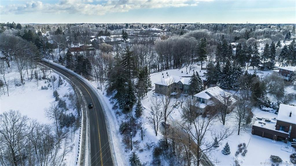 190 Jerseyville Road W  - Aerial View
