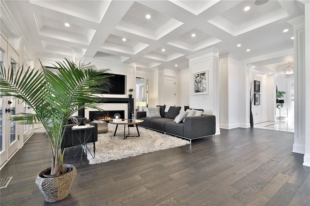 731 Montgomery Drive - Family Room with Fireplace