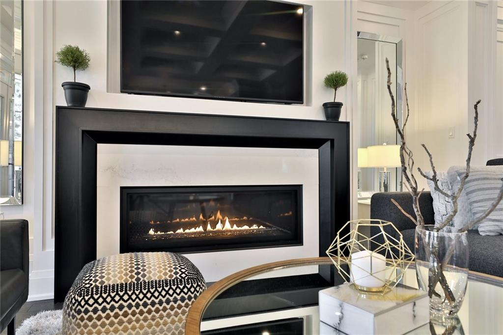 731 Montgomery Drive - Fireplace in Family Room
