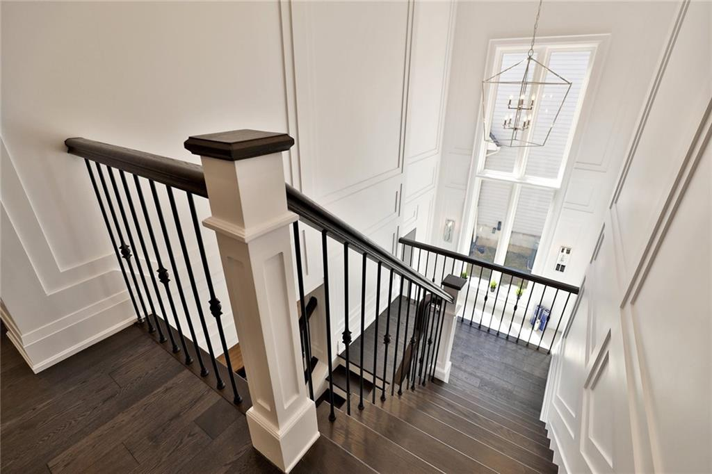 731 Montgomery Drive - Staircase