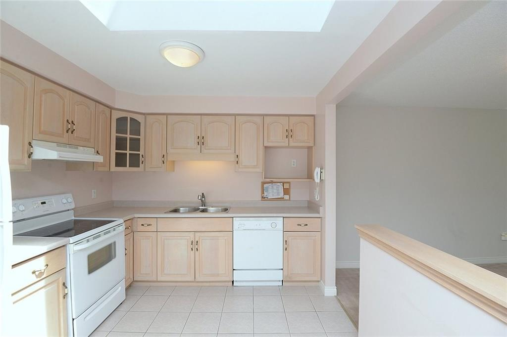 14-60 Dundas Street - Large skylight in kitchen allows for additional natural light