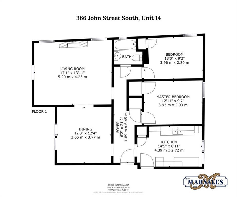 14-366 John Street S  -